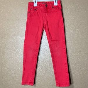 Tractor girls red skinny pants